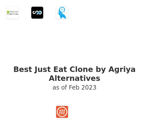 Best Just Eat Clone by Agriya Alternatives