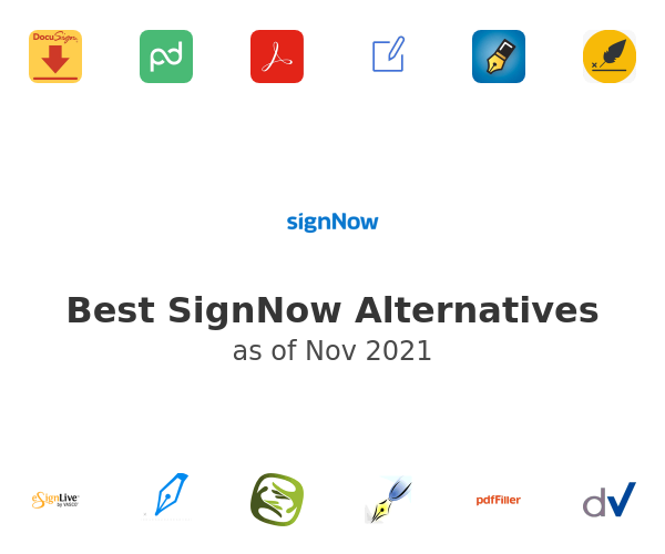 Best SignNow Alternatives