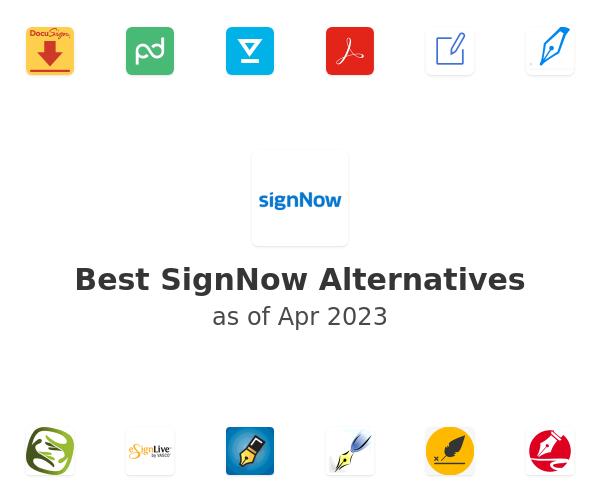 Best SignNow Alternatives