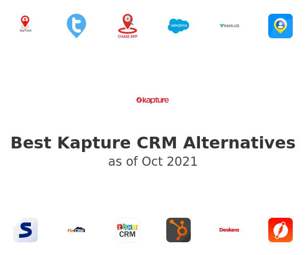 Best Kapture CRM Alternatives