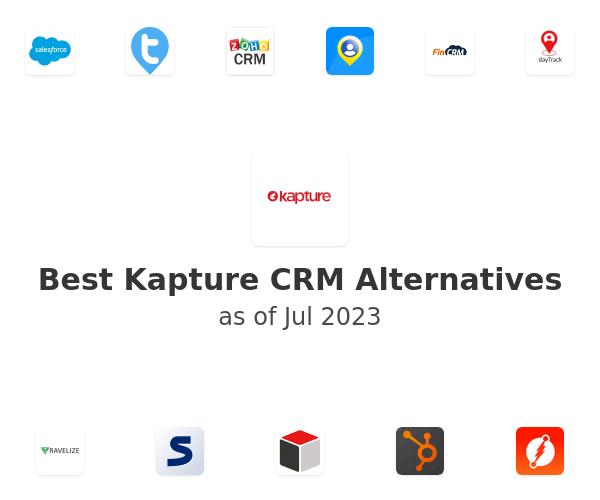 Best Kapture CRM Alternatives