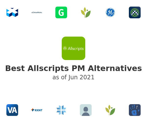 Best Allscripts PM Alternatives