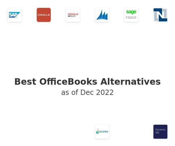 Best OfficeBooks Alternatives