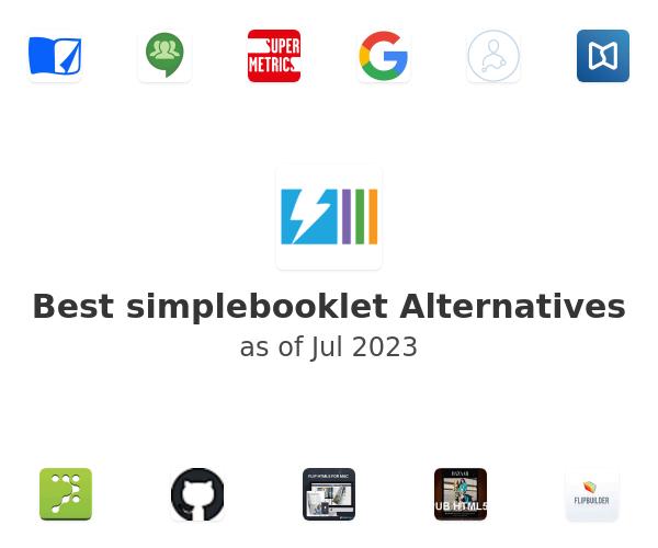 Best simplebooklet Alternatives