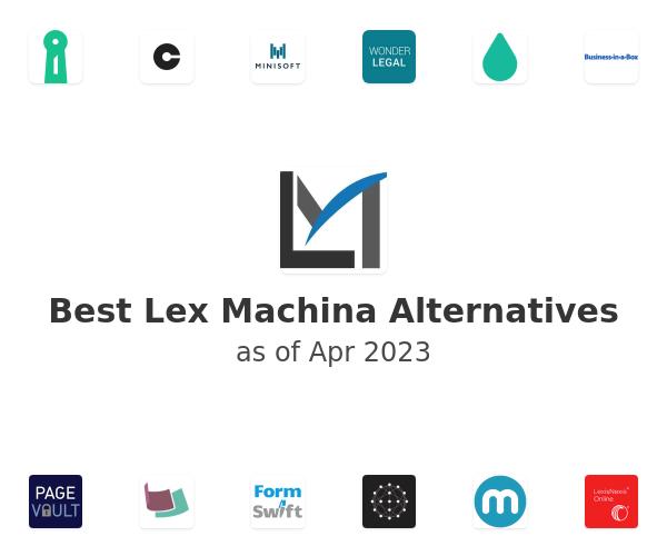 Best Lex Machina Alternatives