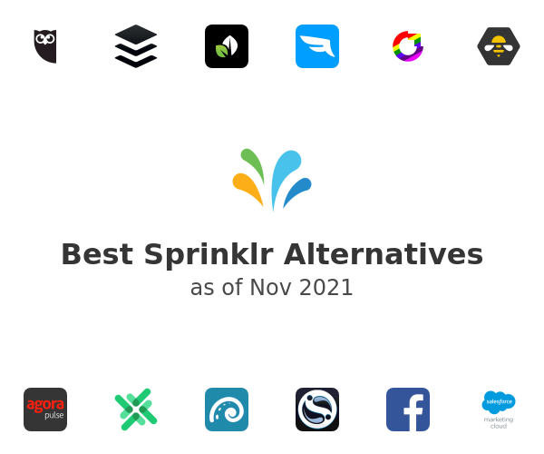 Best Sprinklr Alternatives