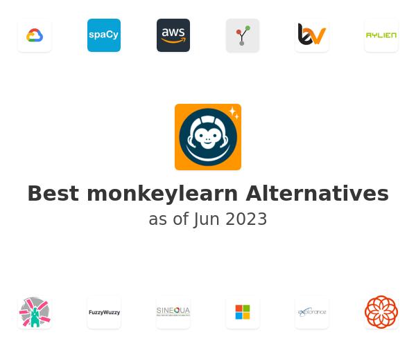 Best monkeylearn Alternatives