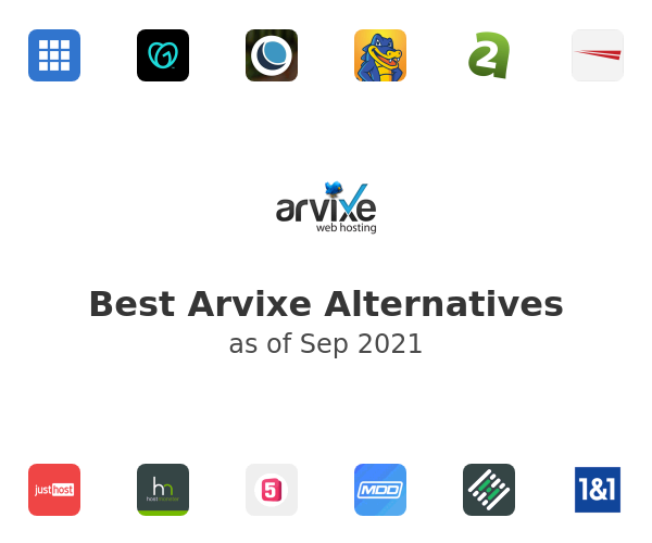 Best Arvixe Alternatives