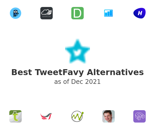 Best TweetFavy Alternatives