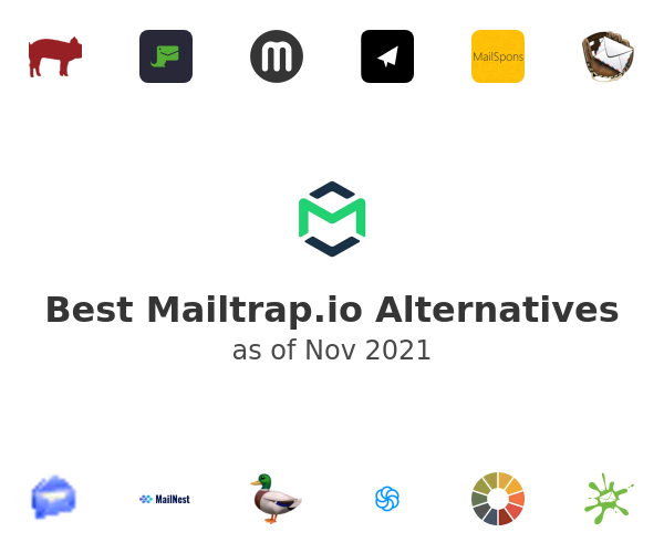 Best Mailtrap.io Alternatives