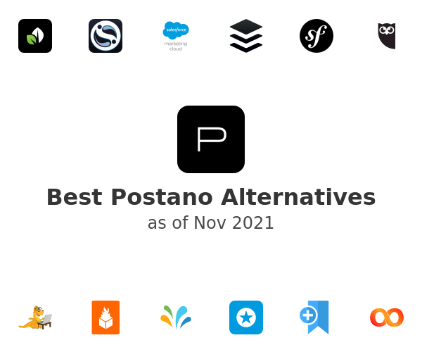 Best Postano Alternatives
