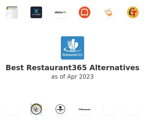 Best Restaurant365 Alternatives