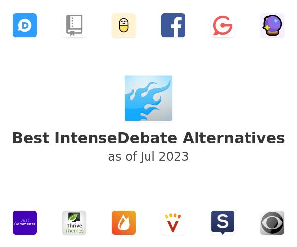 Best IntenseDebate Alternatives