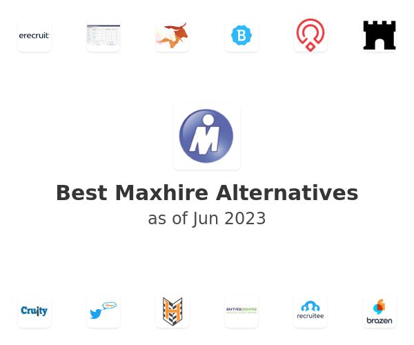 Best Maxhire Alternatives