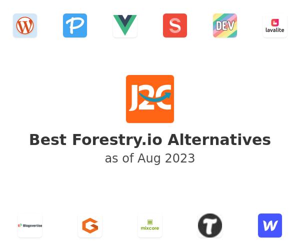 Best Forestry.io Alternatives