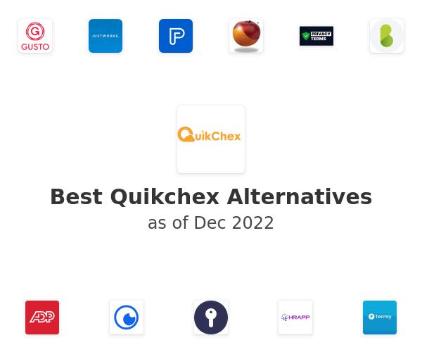 Best Quikchex Alternatives