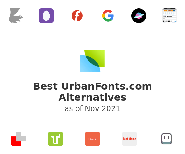 Best UrbanFonts.com Alternatives