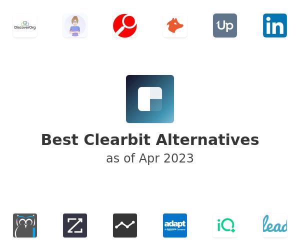 Best Clearbit Alternatives