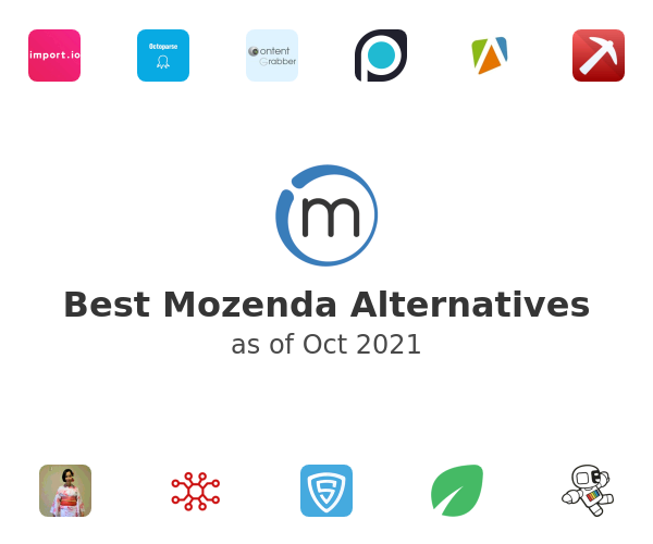 Best Mozenda Alternatives