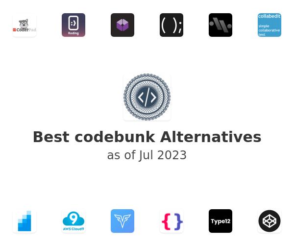Best codebunk Alternatives