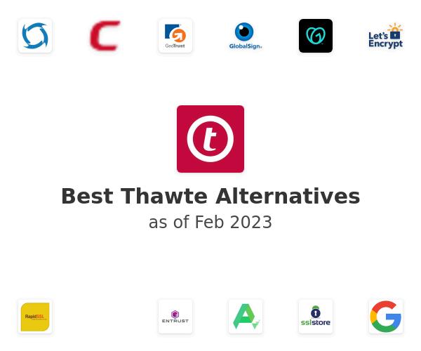 Best Thawte Alternatives