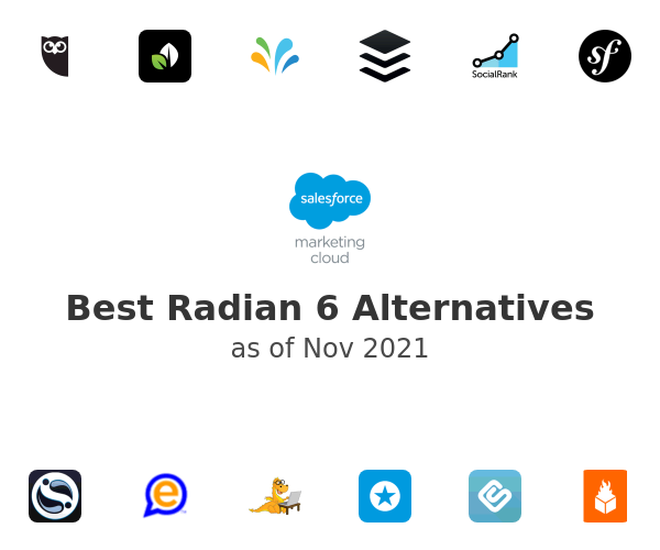 Best Radian 6 Alternatives