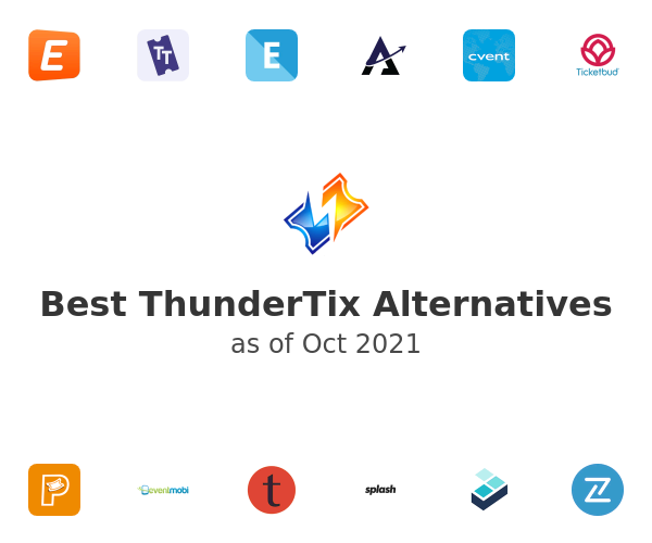Best ThunderTix Alternatives