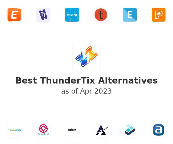 Best ThunderTix Alternatives