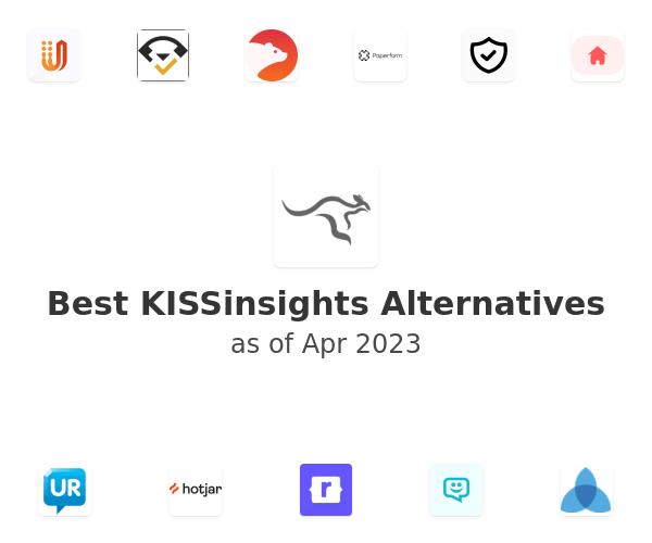 Best KISSinsights Alternatives