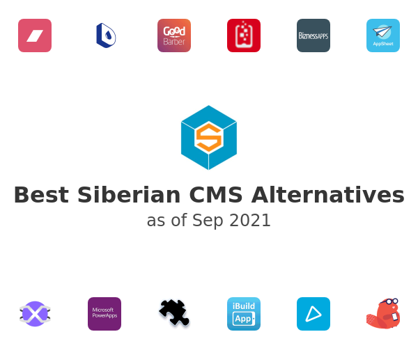 Best Siberian CMS Alternatives