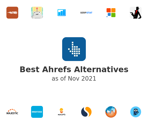 Best Ahrefs Alternatives