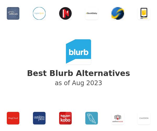 Best Blurb Alternatives