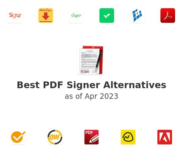 Best PDF Signer Alternatives