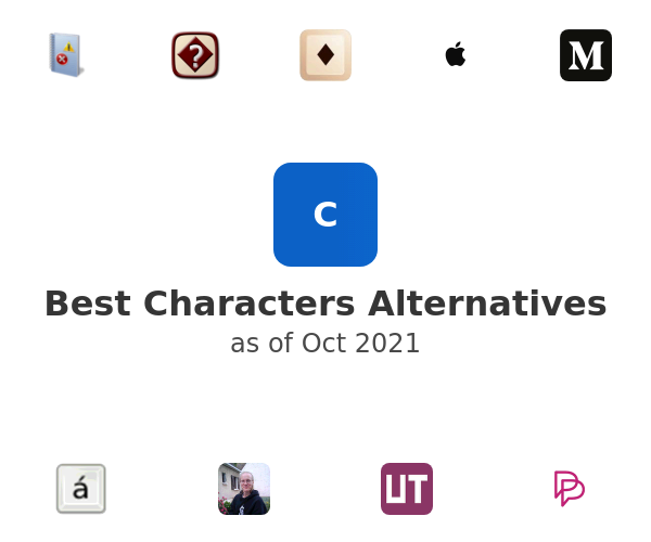 Best Characters Alternatives