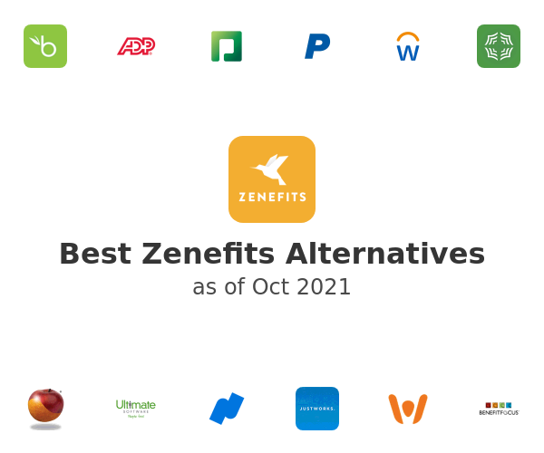 Best Zenefits Alternatives