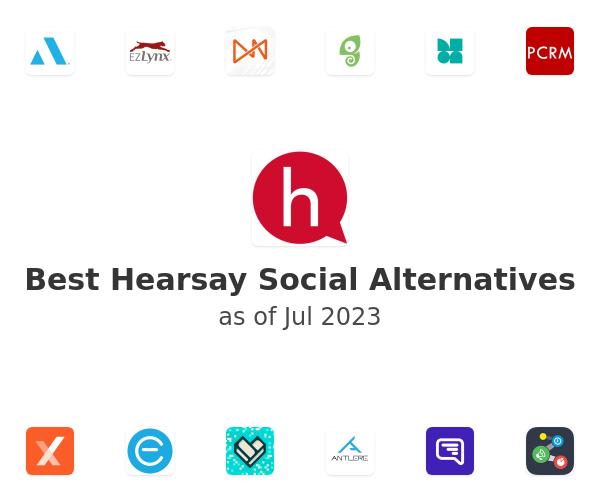 Best Hearsay Social Alternatives