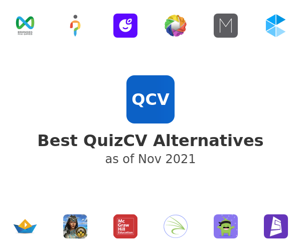 Best QuizCV Alternatives