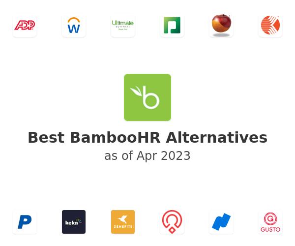Best BambooHR Alternatives