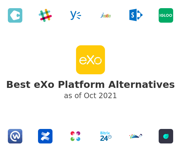 Best eXo Platform Alternatives