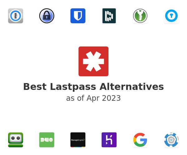 Best Lastpass Alternatives
