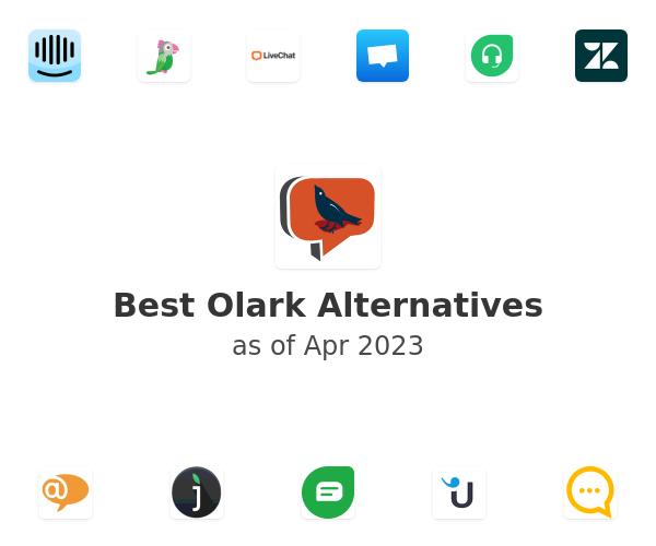 Best Olark Alternatives