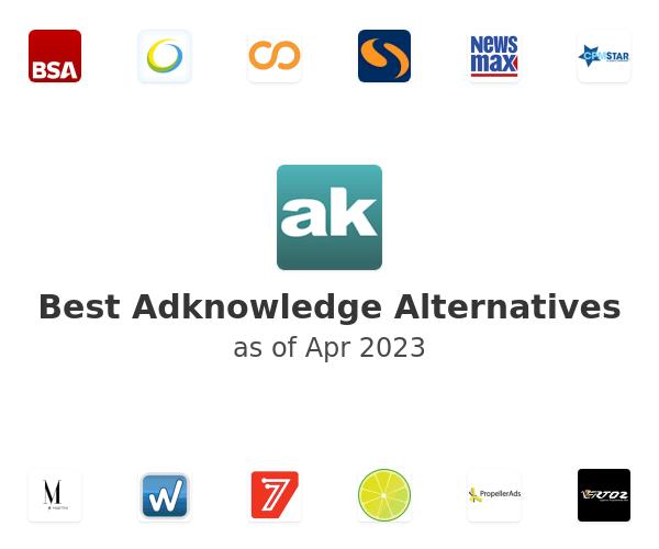 Best Adknowledge Alternatives