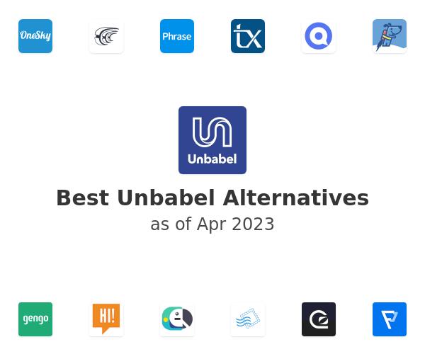 Best Unbabel Alternatives