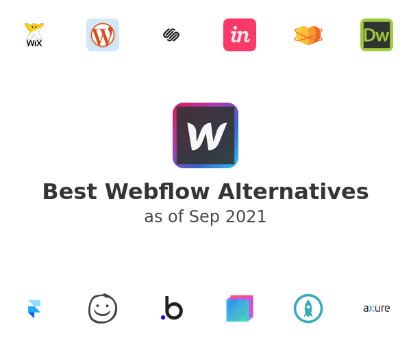 Best Webflow Alternatives