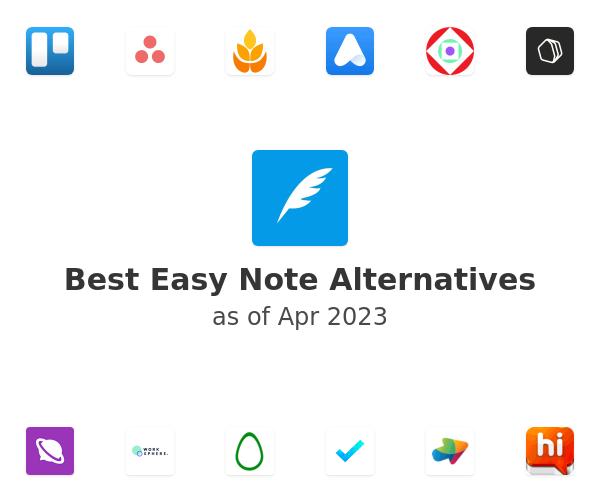 Best Easy Note Alternatives