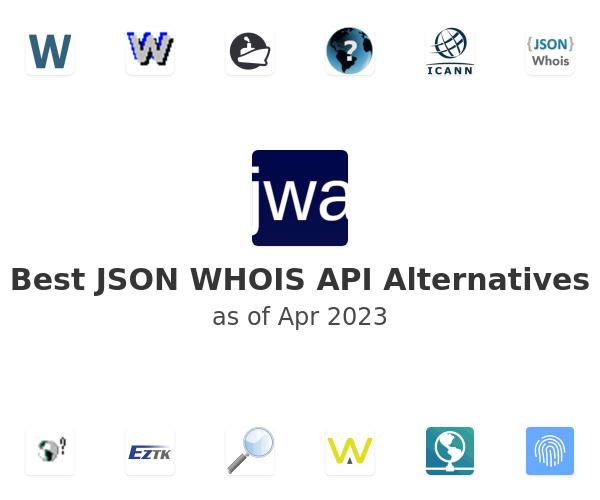 Best JSON WHOIS API Alternatives