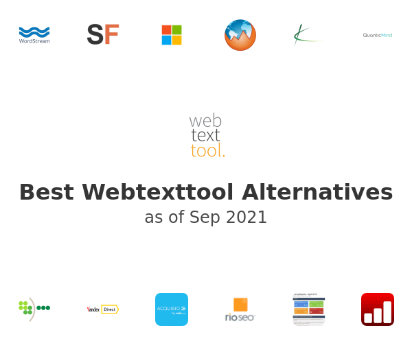 Best Webtexttool Alternatives