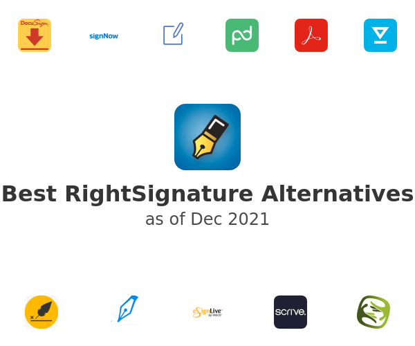 Best RightSignature Alternatives