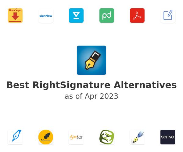 Best RightSignature Alternatives