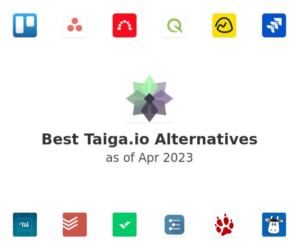 Best Taiga.io Alternatives